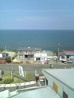 高いとこから日本海〜