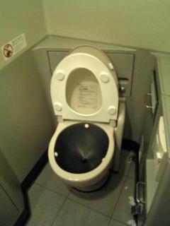 N700のトイレ