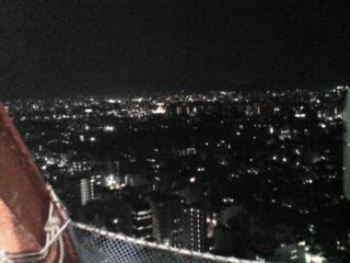京都タワーに登ったわー