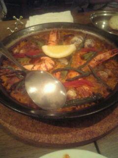 怒涛のスペイン料理