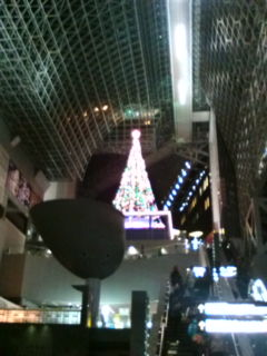 京都駅クリスマスイルミ