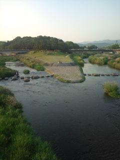 鴨川へ合流