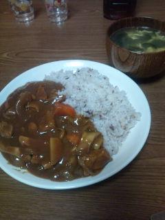 二十一穀米カレー