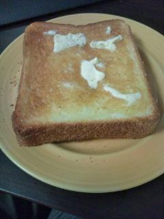 朝はトースト