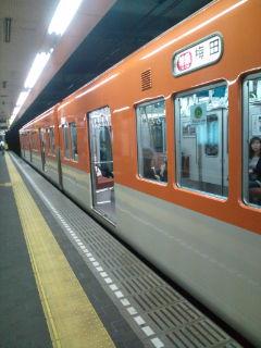 阪神電車なのに巨人色