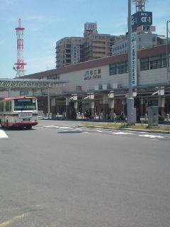 松江に着いたどー