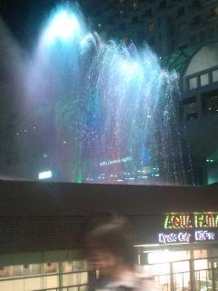 華麗な噴水