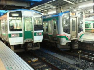 仙台駅にて