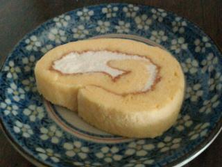 手作りカロリー3分の1ロールケーキ