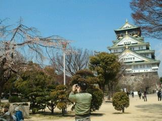 久々の大阪城