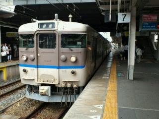 尼崎駅に113系改良車!