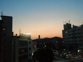 長田の夕焼け