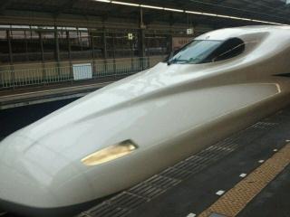 久しぶりの東海道新幹線