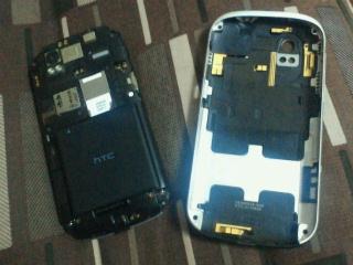 HTC Amazeの裏側
