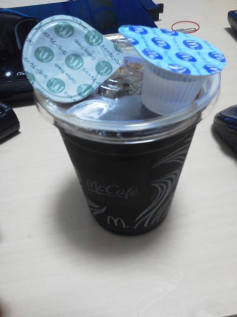 強制アイスコーヒー