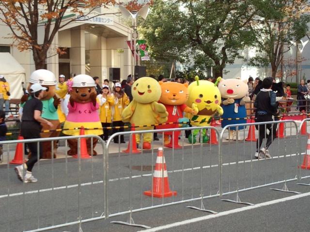 神戸マラソン応援