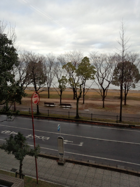 湖の見える会場