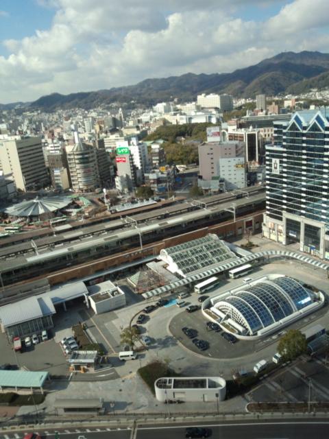 ホテルからの神戸