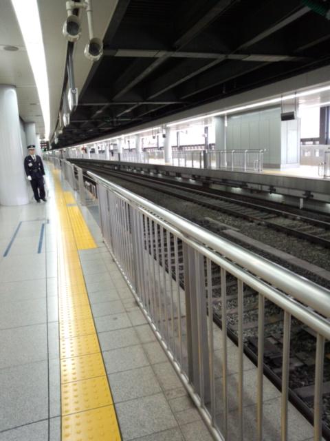 意外と空いてる品川駅