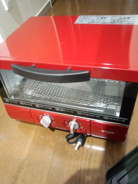赤いトースター
