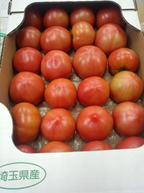 今年も埼玉からトマト