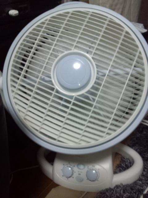 ルーバー扇風機
