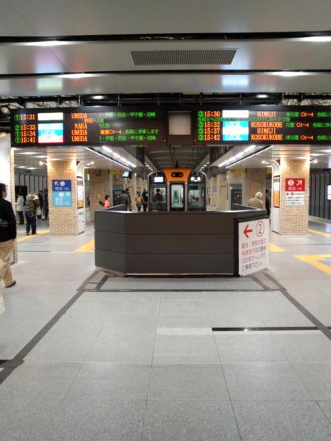 阪神三宮駅工事完了